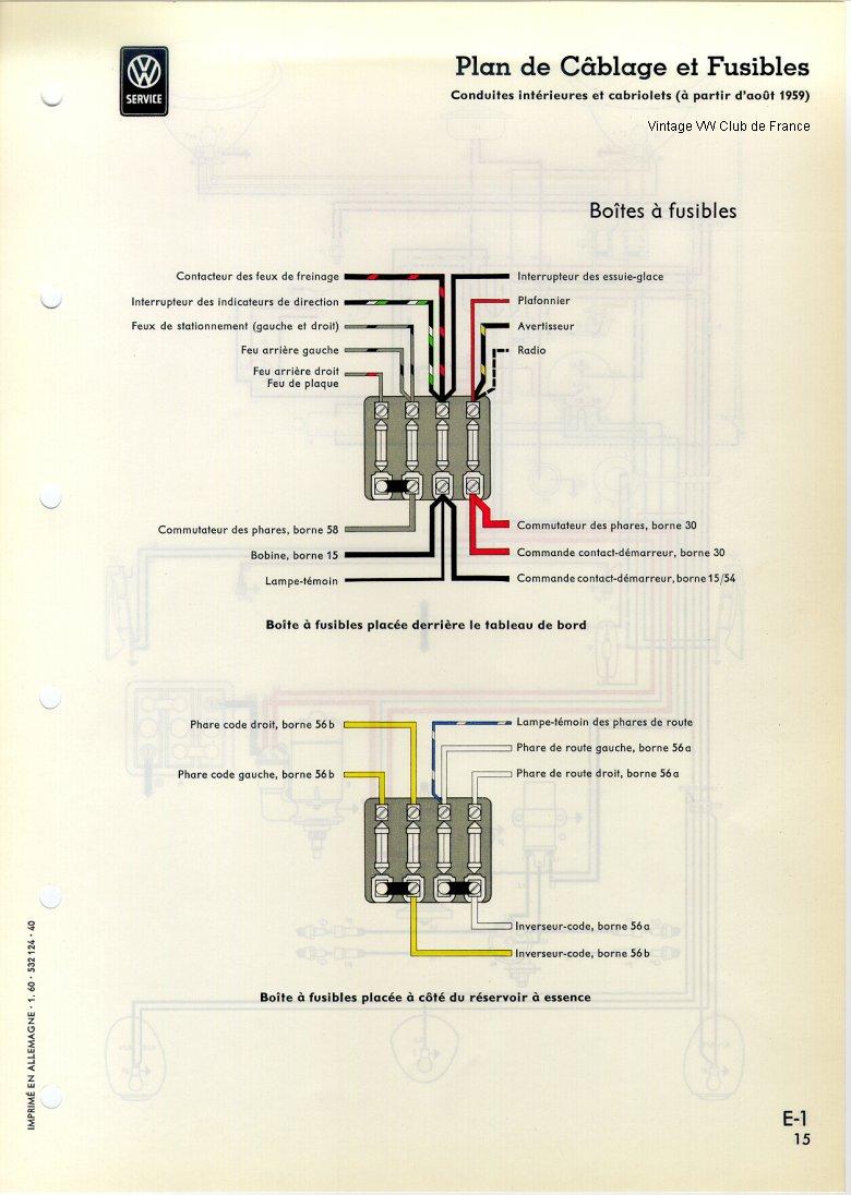 Schéma électrique Global · Nomenclature Du Schéma Global · Cablage De La  Boite à Fusibles