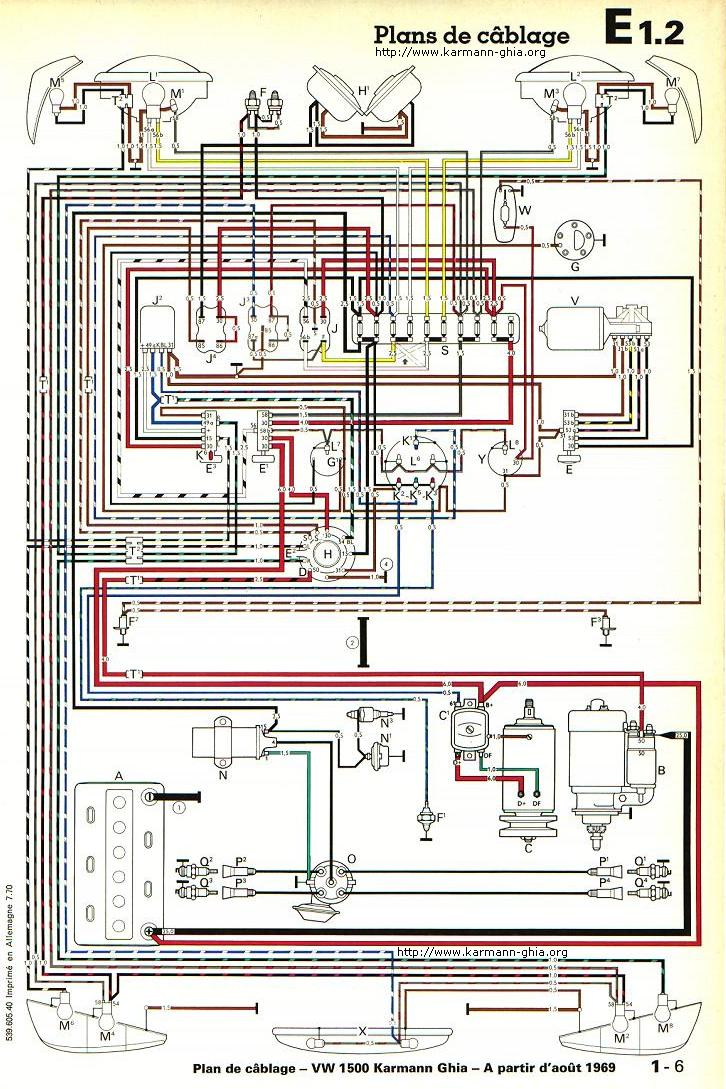 Schema Electrique Cox 1200 1973